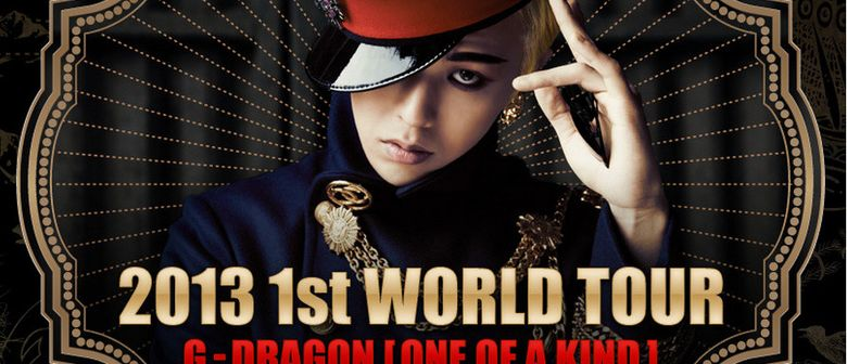 G-Dragon 2013 One Of A Kind World Tour Singapore Shows