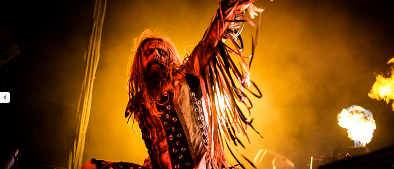 Rob Zombie, Five Finger Death Punch, Black Veil Brides Singapore Debut