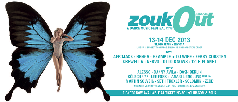 ZoukOut 2013 Full Line-Up