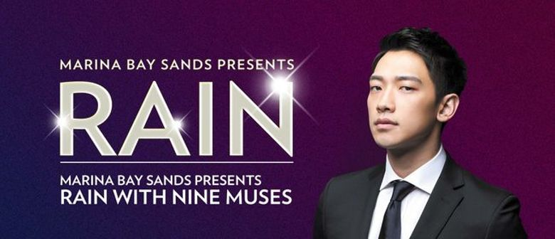 Rain & Nine Muses Singapore New Year's Eve