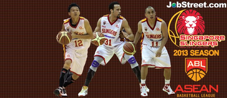 ASEAN Basketball - Singapore Slingers vs Malaysia Dragons