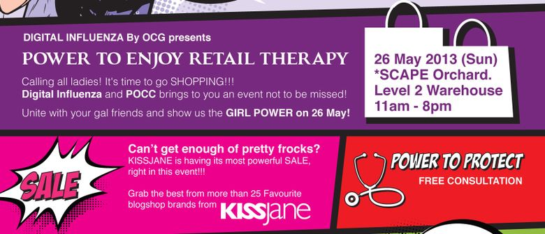 Power to Retail Therapy