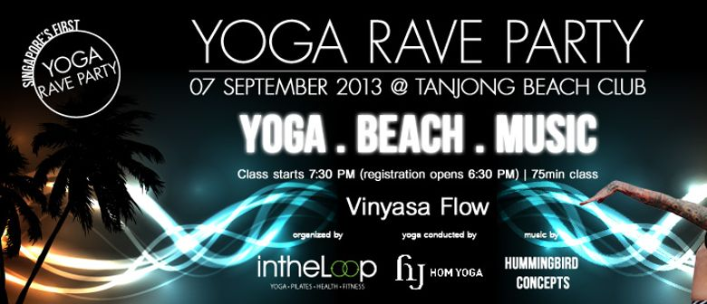 Yoga Rave Party