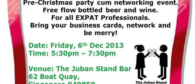 1st Friday: An Expat Affair - Christmas Party Cum Networking