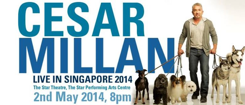 Cesar Millan Live in Singapore 2014