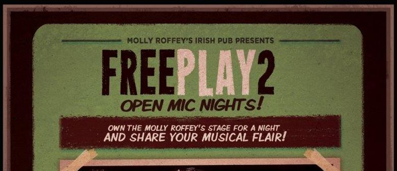 FreePlay2: Open Mic Nights