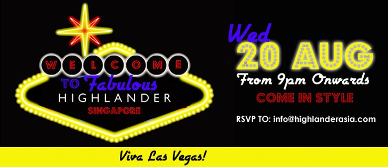 Las Vegas Night at Highlander