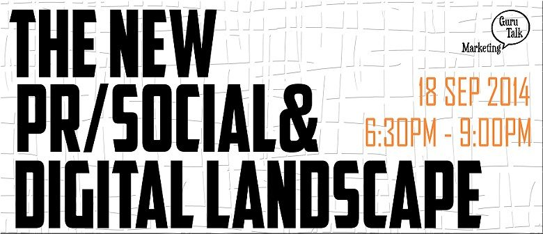 The new PR/Social & Digital Media Landscape