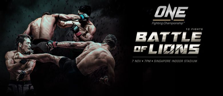 One Fighting Championship - Battle Of Lions