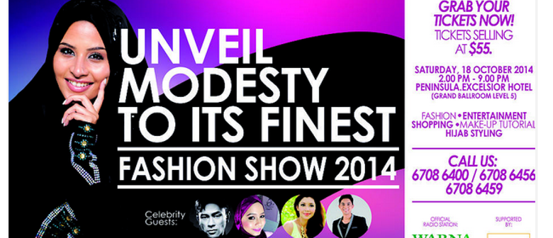 Unveil Modesty To Its Finest Fashion Show
