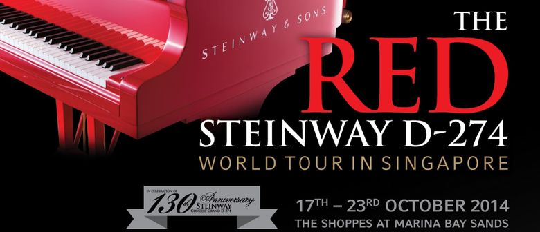 The RED Steinway Concert D-274 World Tour