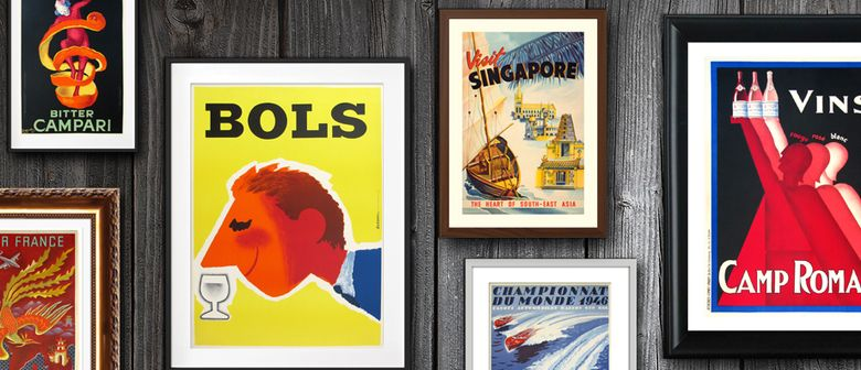 'The Art of the Poster': An Exhibition of Original Vintage