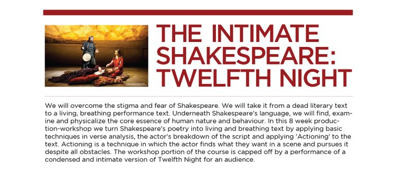 The Intimate Shakespeare: Twelfth Night
