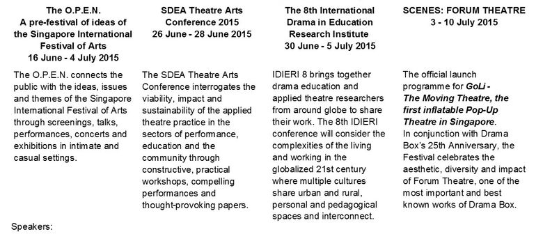 June and July Are Jumping With Drama and The Arts!