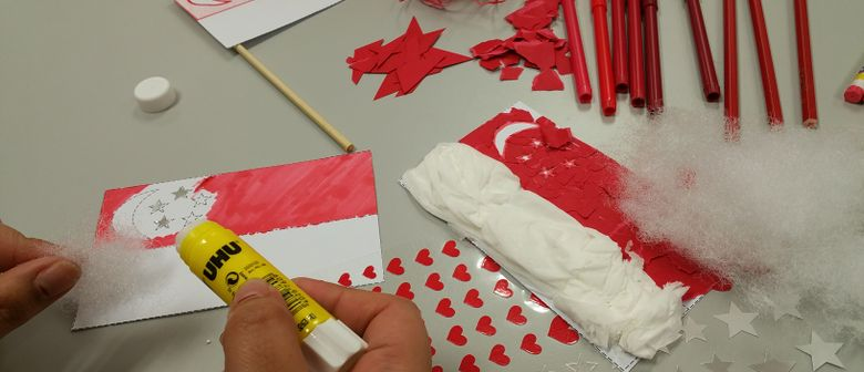 SG50 Activity: Make A Flag!