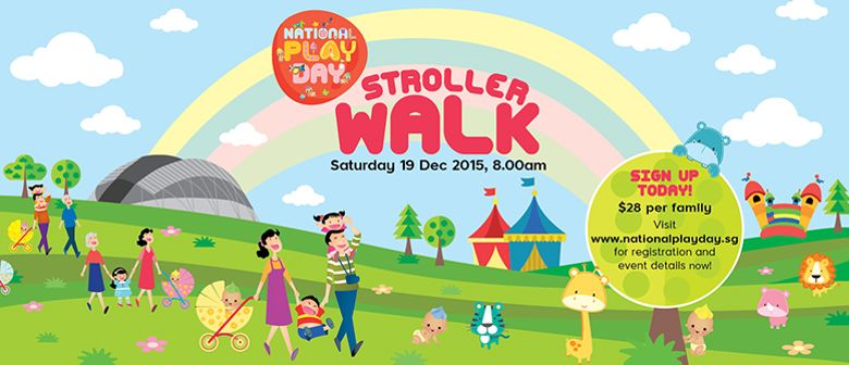 National Play Day Stroller Walk