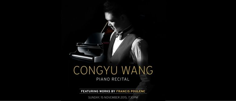 Congyu Wang Piano Recital