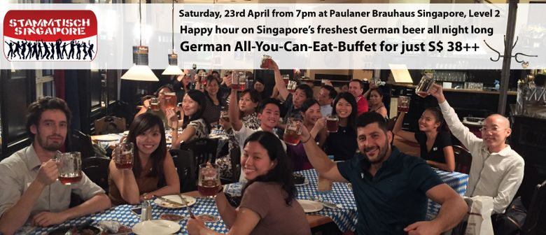 German All-You-Can-Eat Buffet - By Stammtisch SG