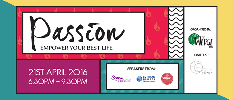 Wedge 08: Passion, Empower Your Best Life