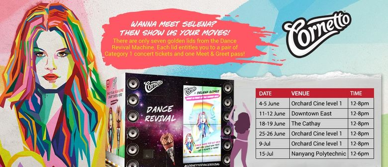 Cornetto Dance Revival Roadshows