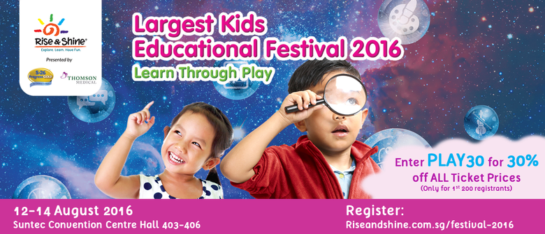 Asia's Largest Learn Through Play Festival 2016