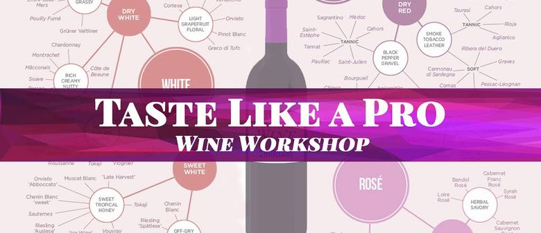 Wine Workshop - How to Taste Like a Pro