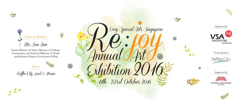 Re:joy Annual Art Exhibition 2016