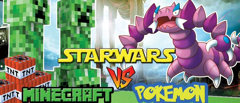 Starwars Vs Minecraft Vs Pokemon Lego Robotics Camp 2016