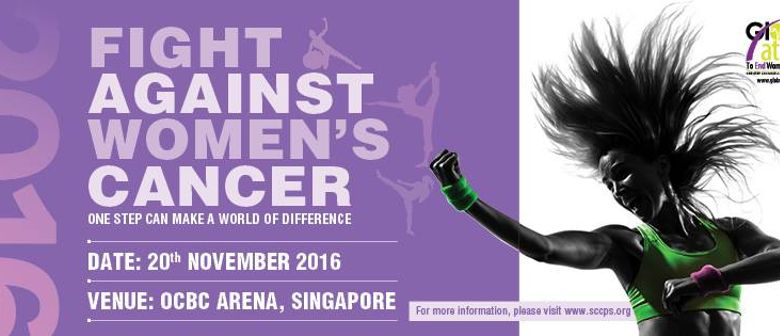 Fight Against Women's Cancer - Globe-Athon 2016