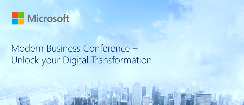 Modern Business Conference - Unlock Your Digital Transformat