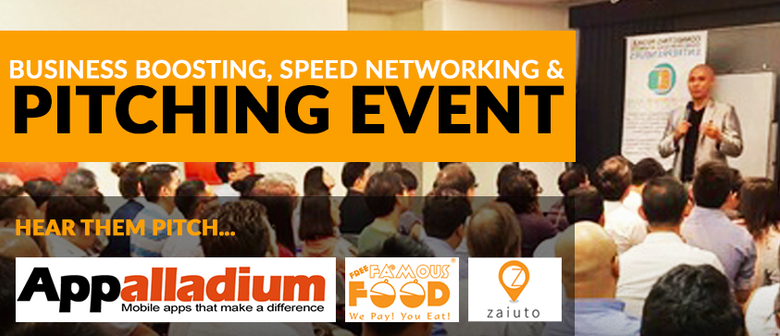 Business Boosting, Speed Networking and Pitching Event