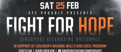 Fight for Hope – Singapore Kickboxing Nationals