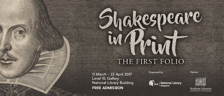 Shakespeare In Print – The First Folio Showcase