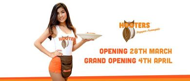Hooters Fusionopolis Official Launch Party