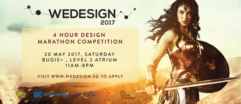 WeDesign 2017 - Wonder Woman Design Marathon