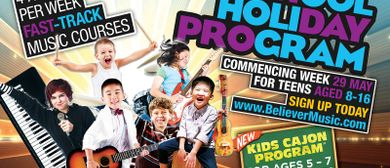 Believer Music School Holiday Program