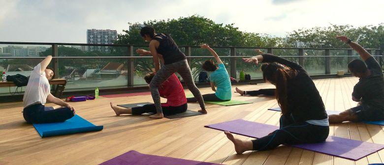 Sunrise Rooftop Yoga – Sunday Sessions