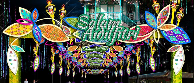 Hari Raya Light Up 2017 – Street Light-Up