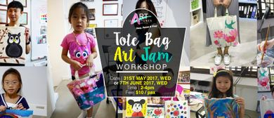 Tote Bag Art Jam Workshop