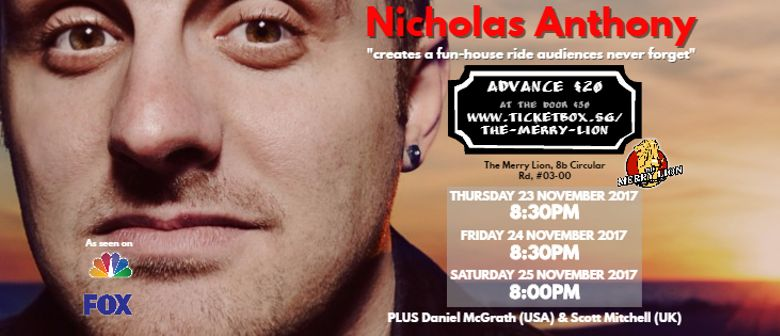 Stand-Up Comedy With Nicholas Anthony and Daniel McGrath