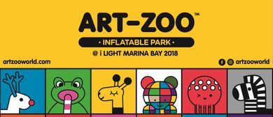 Art-Zoo Inflatable Park – i Light Marina Bay 2018