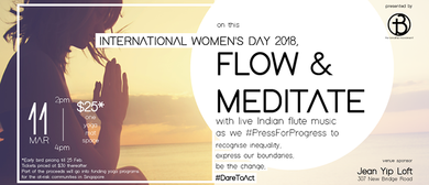 Flow & Meditate: International Women's Day 2018