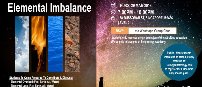 Students-Only Meetup: Elemental Imbalance