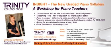 Insight – The New Graded Piano Syllabus Workshop