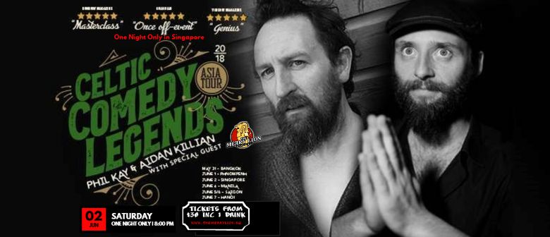 Celtic Comedy Legends – One Night Only