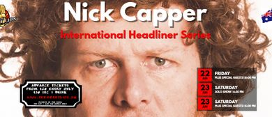 International Stand-Up Comedy – Nick Capper