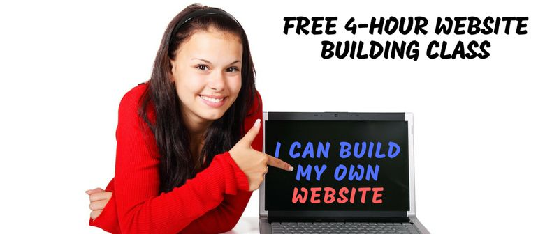 4-Hour Website Building Class For Complete Beginners: SOLD OUT