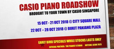 Casio Piano Roadshow 2018