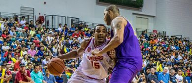 ASEAN Basketball League – Slingers vs CLS Knights (Indonesia