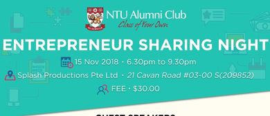Entrepreneur Sharing Night